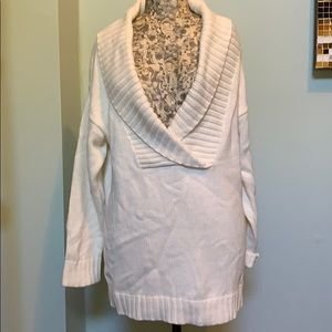 Oversized Cable Knit Sweater size small